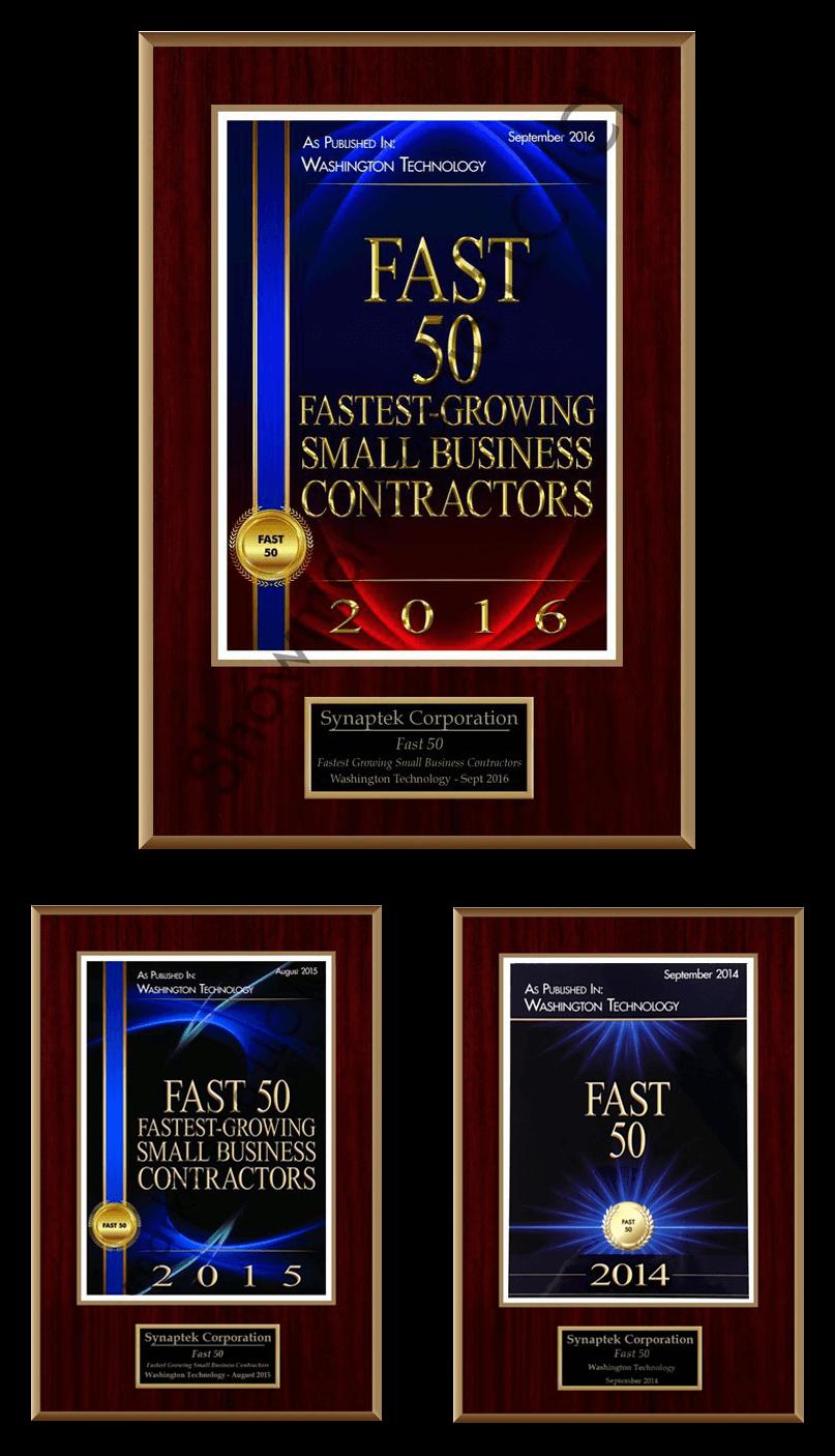 Washington Fast 50 Technology Award 2016