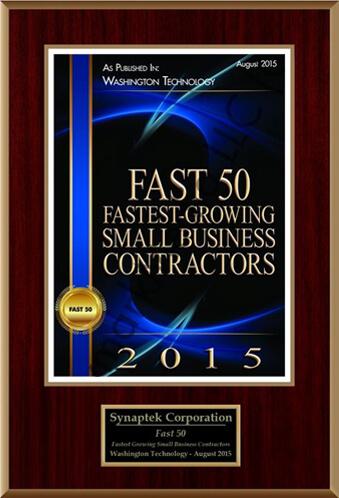 Washington Fast 50 Technology Award