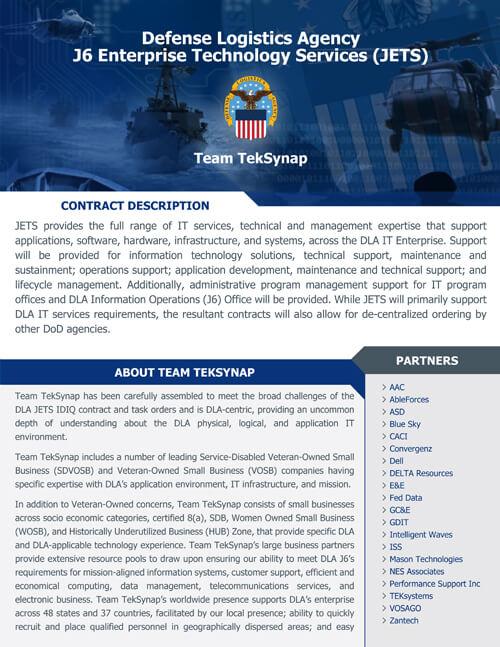 DLA Jets Team TekSynap