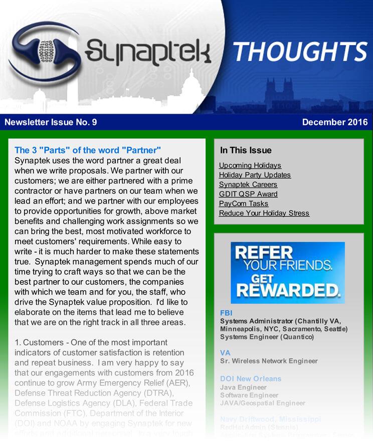 Newsletter Archives - TekSynap