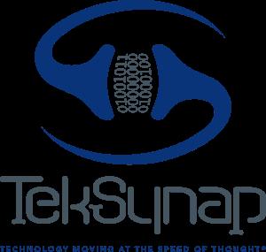 TekSynap Stacked Logo Flat with Tagline