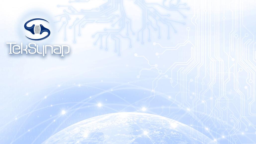 TekSynap Teams Background (Light)